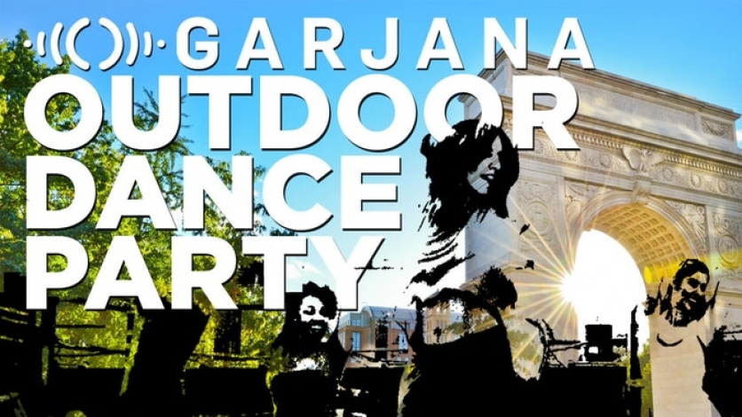 Free Outdoor Garjana Dance Fitness Party in NYC for GrowNYC!