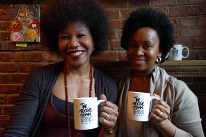Co-owners of Boogie Down Grind, Majora Carter and Sulma Arzu-Brown