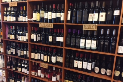 La Cantina offers a variety of small vineyard varieties from around the globe