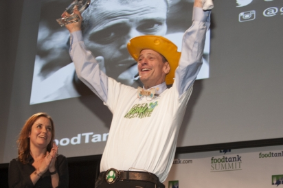 Stephen Ritz receiving Bright Spots award in DC