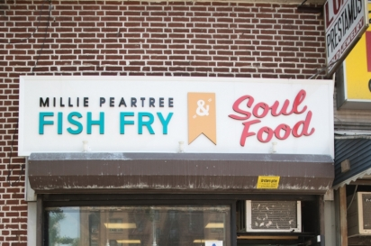 MP Fish Fry and Soul Food store front