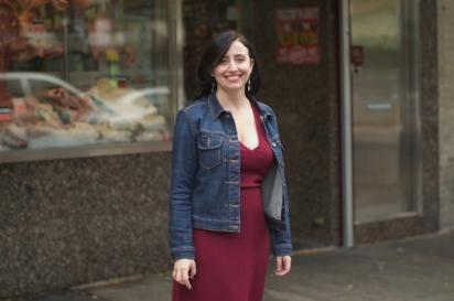 Danielle Oteri, owner of Arthur Avenue Food Tours Feast on History