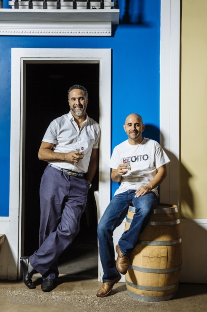 Owners of PMD, William Valentin and Rafael Barbosa