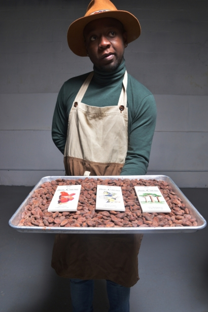 Dominic Maloney co-owner and chocolatier at Sol Cacao