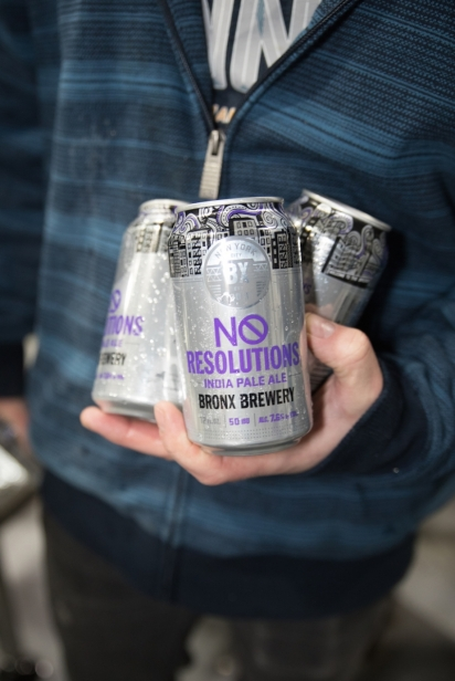 No Resolutions beer by The Bronx Brewery