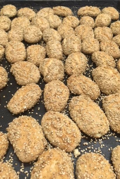 Egidos famous sesame cookies