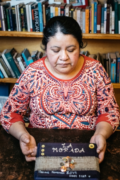 The quiet matriarch, head chef and part-owner, Natalia Mendez, emits her presence to every corner of La Morada.